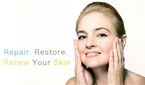 REPAIR. RESTORE. RENEW YOUR SKIN. Face + Body Aesthetic Solutions